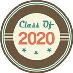 Vintage Class of 2020 School T-shirts