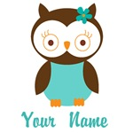 Personalized Owl T-shirts