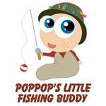 Personalized Pop Pop's Little Fishing Buddy
