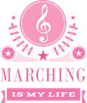 Marching Band Is My Life Quote Music Gifts