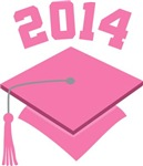 Class Of 2014 Pink Hat Tees