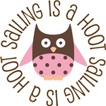 SAILING IS A HOOT OWL TEES AND GIFTS