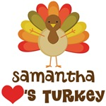 Personalized Turkey Lover Thanksgiving