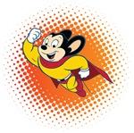 Mighty Mouse Retro Cartoon Tees