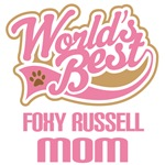 Foxy russell Dog Mom T-shirts