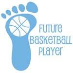 Future Basketball Player Baby Boy Tees