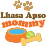 Lhasa Apso Mom T-shirts and Gifts