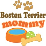 Boston Terrier Mom T-shirts and Gifts