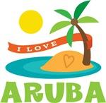 I Love Aruba T-shirts