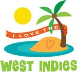 I Love The West Indies T-shirts