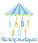 Baby Boy Coming in August Due Date Maternity