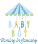 Baby Boy Coming in January Due Date Maternity