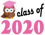 Class of 2020 Graduation Tee Shirts (owl)