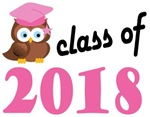 Class of 2018 Graduation Tee Shirts (owl)