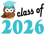 2026 Graduation Tee Shirts (owl)