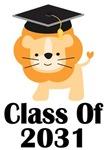 Class of 2031 Lion Graduation Design