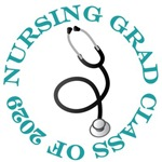 Nursing Grad Class of 2029 Gifts and Shirts