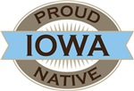 Proud Iowa Native T-shirts