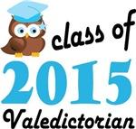 Valedictorian owl 2015 Tees