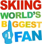 Skiing Fan Sports T-shirts