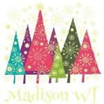 Madison Wisconsin Holiday Tshirts