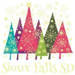 Sioux Falls South Dakota Holiday Tshirts