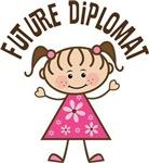 Future Diplomat girls tshirts