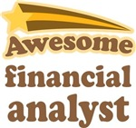 Awesome Financial Analyst T-shirts
