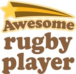 Awesome Rugby Player T-shirts
