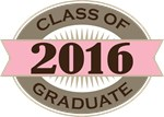 Class Of 2016 Graduate Vintage gifts