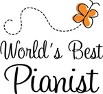 World's Best Pianist T-shirts And Gifts