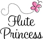 Pretty Pink Flute Princess T-shirts
