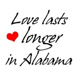 Love In Alabama T-shirts