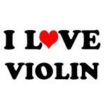 I Love Violin T-shirts and Gifts