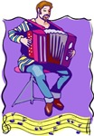 Accordion Player T-shirts and Gifts