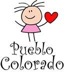 Cute Pueblo Colorado T-shirts and Gifts