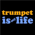 Trumpet Is My Life T-shirts