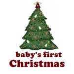 Baby's First Christmas Gifts & Tees