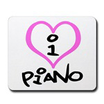 I Heart Piano T-shirts And Gifts