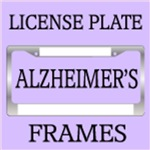 Alzheimer's Disease License Plate Frames