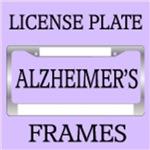 Alzheimer's Disease License Plate Frames
