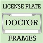 DOCTOR OCCUPATION LICENSE FRAMES