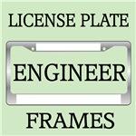 ENGINEER LICENSE PLATE FRAMES