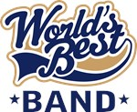 Worlds Best Band Music T-shirs