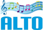 Musical Alto Gift Tee Shirts and Hoodies