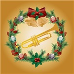 Trumpet Christmas Music Gifts and Apparel
