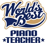 Piano Teacher T-shirts and Gifts