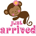 Just Arrived Newborn Monkey T-shirts