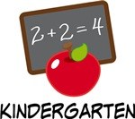 Cute Kindergarten Teacher Apple