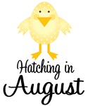 Hatching In August Maternity Announcement